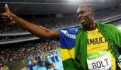 Bolt wins triple triples at Olympics