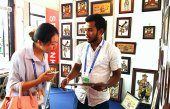 Sri Lanka stalls, a major attraction at CAEXPO
