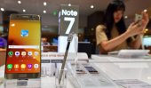 Samsung shares fall over Note 7 recall