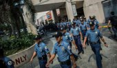 Nose-picking ban for Philippines police