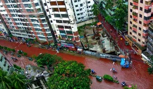 Dhaka streets turn to rivers of blood