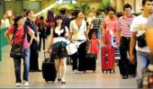 Tourist arrivals hit all-time high in July
