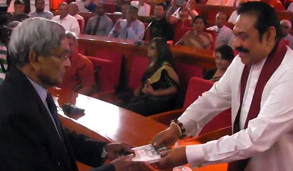 Foreign judges: Mahinda challenges government (video)