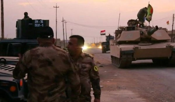 Iraqi troops enter Mosul