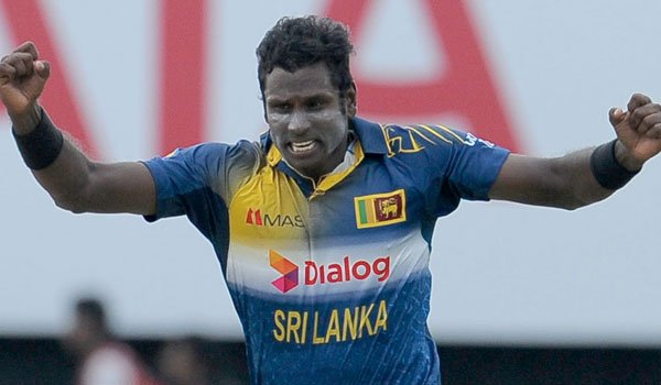 Injured Mathews to miss triangular series