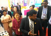 China invited to invest in Sri Lanka
