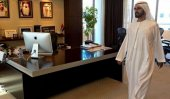 Dubai ruler's spot check finds empty desks