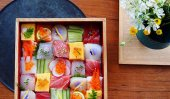 """Mosaic Sushi"" turns lunch to edible art"