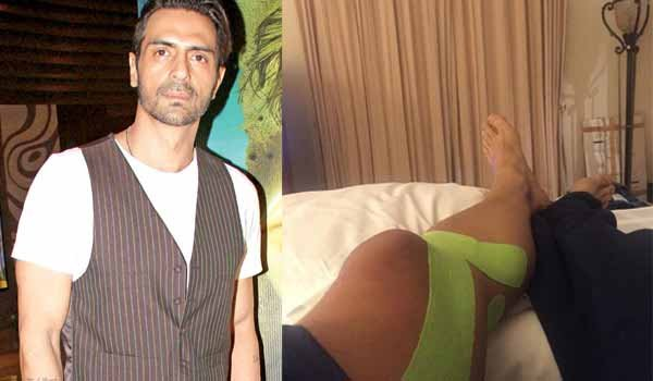 Arjun Rampal gets injured while shooting