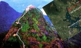 Hotel to be built near Muray Falls, Sri Pada (google maps)